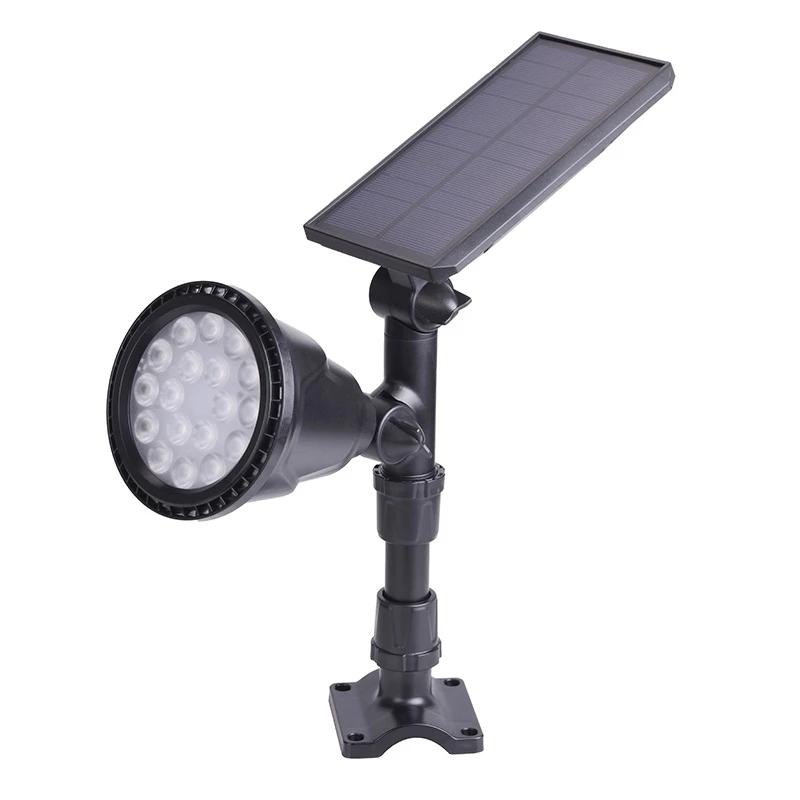 6代射灯(光控款)黑色  白光