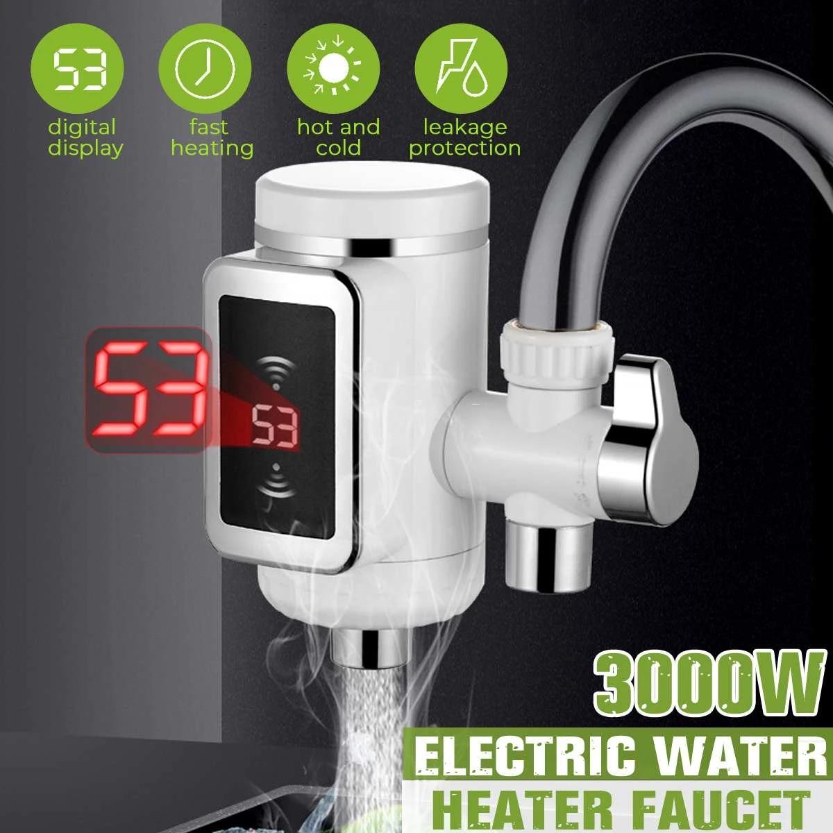 3000W数显电热水龙头K-J592A