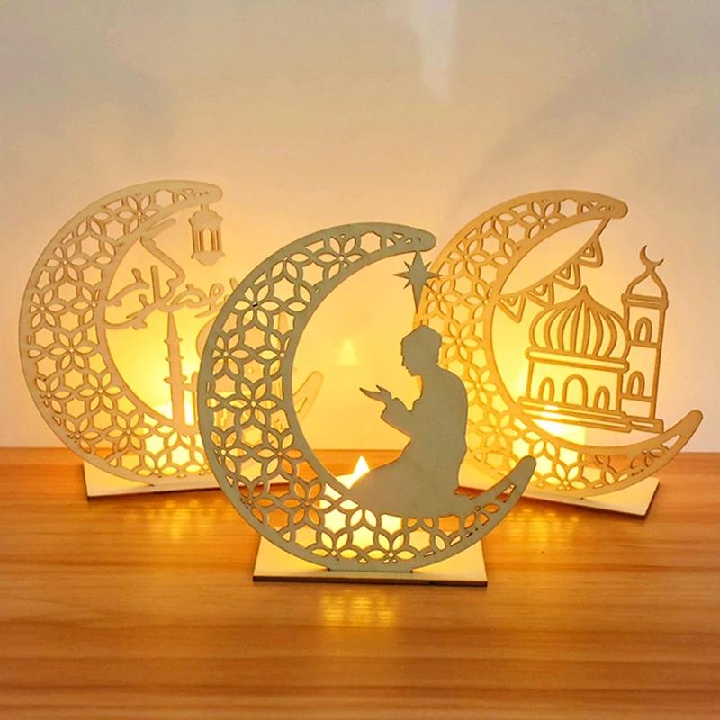 【烛蜡灯款】木质蜡烛灯摆件KBY0206